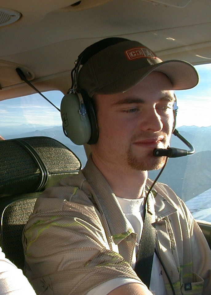 Ed Huggett, Langley Flying School