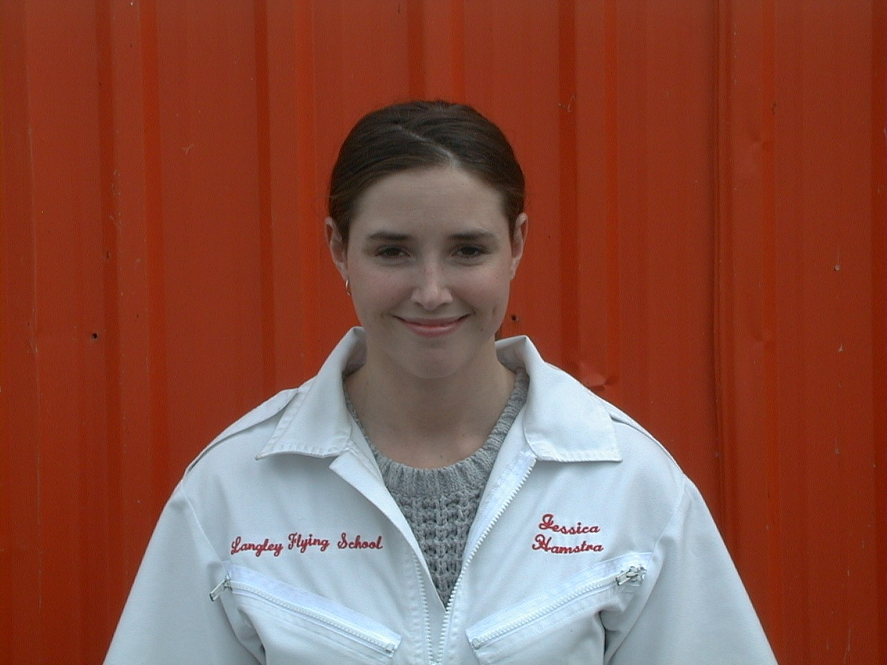 Jessica Hamstra, Flight Instructor, Langley Flying School.